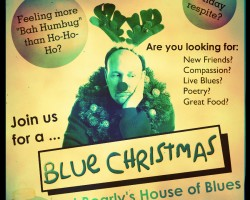Bearlys Blue Christmas Poster 2014