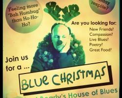 Bearlys Blue Christmas Poster 2014